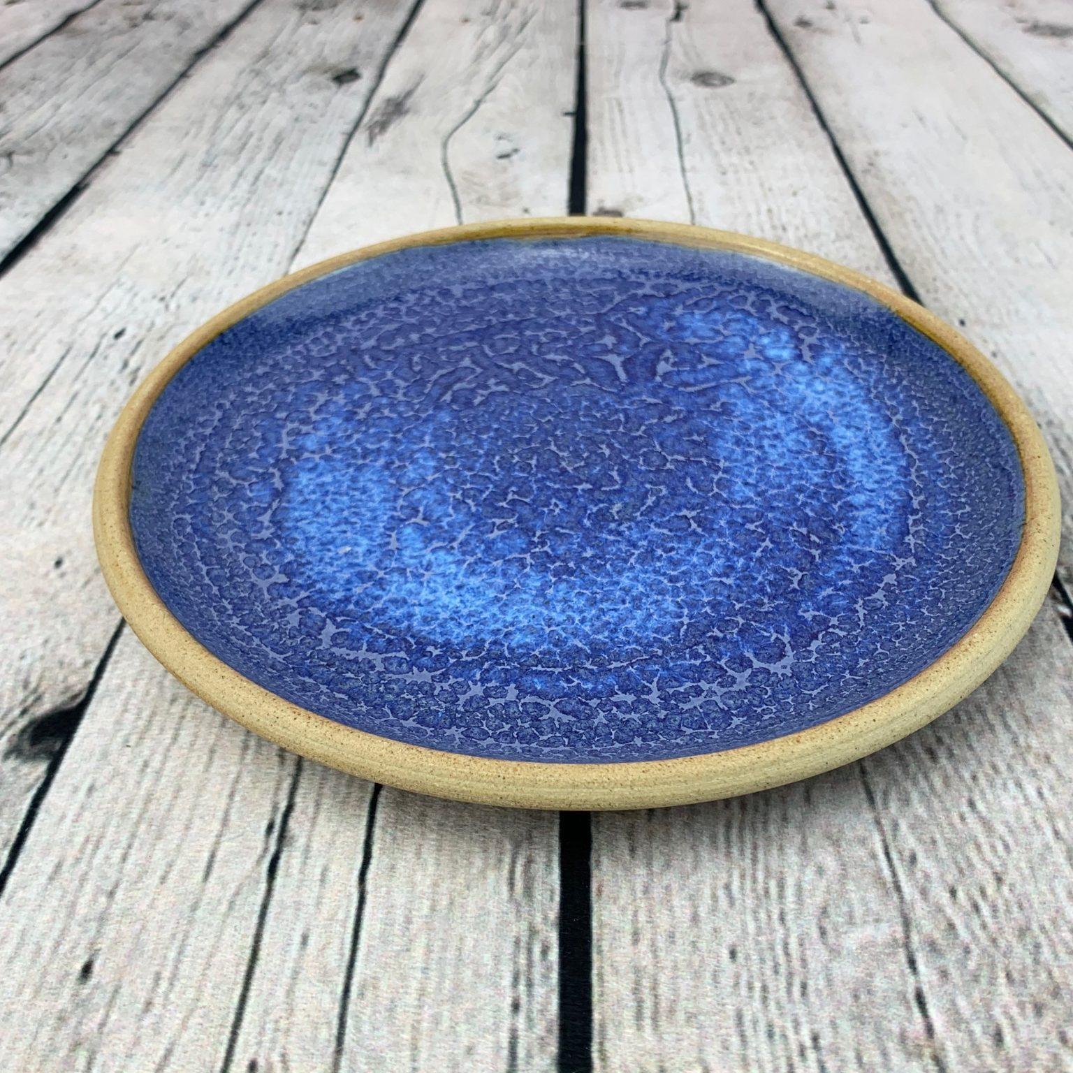 Cobalt Blue with unglazed rim