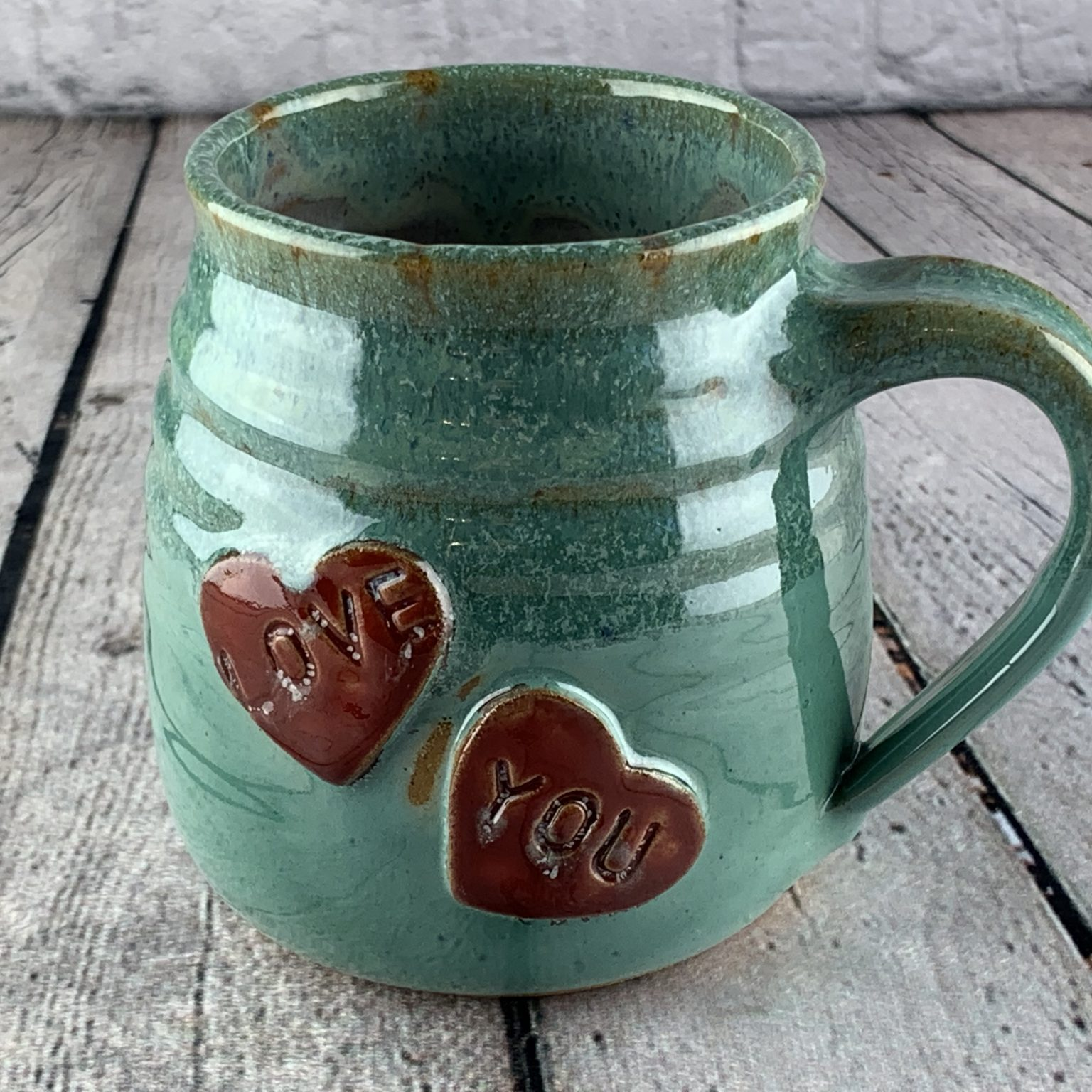 Chubby Heart Coffee Mug Large